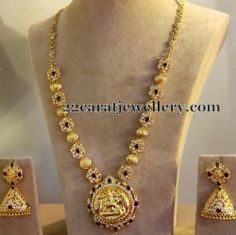 Jewellery Designs: CZs and Balls Necklace