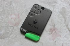 3 Buttons Smart Card Shell Car Key Blank Case Cover With Blade Fit For Renault Laguna + Free Shipping