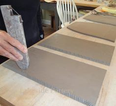 How to Make Large Clay Slab Construction Project Without Cracking or Warping?