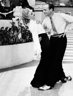 Fred Astaire and Ginger Rogers in Roberta.