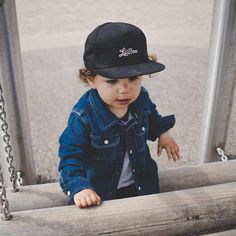 4df3bfd4 Baby Snapback Cap, Baby Flat Brim Hat, Baseball Cap For Kids and Children,