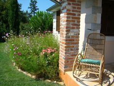 Outdoor Chairs, Outdoor Furniture, Outdoor Decor, Cottage Homes, Pergola, Country, Modern, Diy, Home Decor
