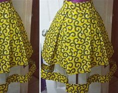 African print midi skirt with mesh insert African dress shop theafricanshop African clothing African print dress African wax print USD) by FashAfrique African Dresses For Kids, Latest African Fashion Dresses, African Dresses For Women, African Print Skirt, African Print Dresses, Ankara Rock, Ankara Stil, African Shop, African Traditional Dresses