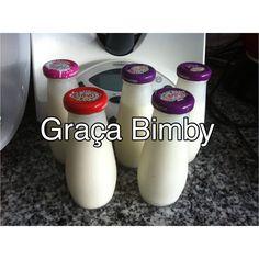 Iogurtes líquidos de pinacolada (ananás e coco)      Ler receita até ao fim versão para as duas versões bimby.   Ingredientes: 1200gr de l...