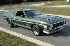 1972 Mustang Mach 1. Maintenance of old vehicles: the material for new cogs/casters/gears could be cast polyamide which I (Cast polyamide) can produce
