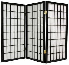 Oriental Furniture Asian Window Treatment, 3-Feet Window Pane Small Shoji Privacy Screen Room Divider, 3 Panel Black ORIENTAL FURNITURE http://www.amazon.com/dp/B00179CDCG/ref=cm_sw_r_pi_dp_ODPZtb014NF5Q5DV