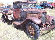 vintage Ford truck