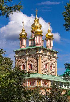 Russia, Sergiyev Posad, Trinity Lavra of St. Sergius