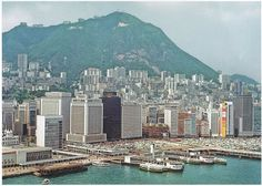 Bill ✔️  Hong Kong skyline 1960s. Of course, it IS still very big, even then!    Bill Gibson-Patmore.  (curation & caption: @BillGP). Bill✔️