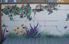 115 best Garden Murals images on Pinterest Murals Garden mural