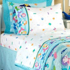 olive kids mermaids 200tc sheet set sale 1999 full size out of stock - Kid Sheets