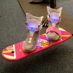 The hover board is happening!