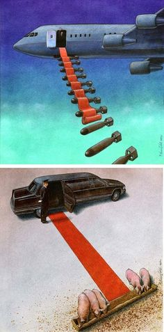 Brilliant Thought-Provoking Satirical Illustrations by Pawel Kuczynski