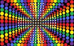 Pattern Colorful Balls Desktop Hd Wallpaper listed in: