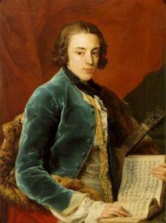 John Montagu, 1st Baron Montagu of Boughton  by Pompeo Battoni, 1764 2