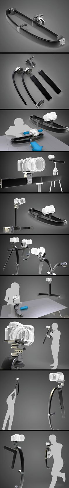 All-In-One Videography Tool for DSLR cameras. / http://www.yankodesign.com