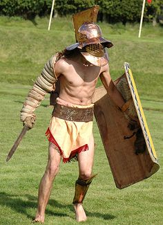 A Brief History of the Gladiator The Gladiator has become as much a symbol of Ancient Rome as the legio. Ancient Rome, Ancient History, Gods Of The Arena, Roman Gladiators, Marshal Arts, Roman Warriors, Roman Republic, War Thunder, Relationship Goals Pictures