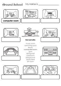 Smile trocando idéias!: School rooms!