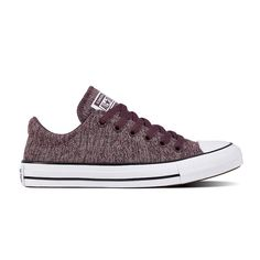 Converse Chuck Taylor All Star Madison Ox Womens Sneakers Lace-up, Color: Vlt Dst Purpl Whit - JCPenney Converse All Star, Converse Low Tops, Converse Chuck Taylor All Star, Hot Shoes, Shoes Heels, Converse Design, Rubber Shoes, Best Sneakers, Canvas Sneakers