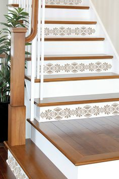 Kolkata Stripe Decal » Love these on the stairs.