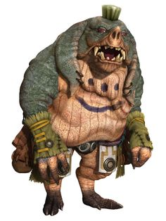 Green Seeq from Final Fantasy XII