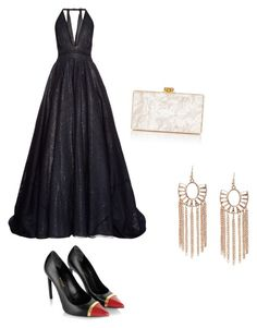 """""""my projects Oscar 2016"""" by anna-maria-majewwska on Polyvore featuring Sophie Theallet, Yves Saint Laurent and Edie Parker"""