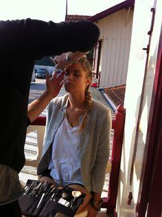 """Backstage shooting """"Comme une belle journée ..."""" la suite - http://commeunebellejournee.com/backstage-2-shooting-belle-journee/"""
