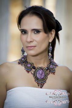 Noche del Faraón  by Sigi Contreras Jewelry Artist