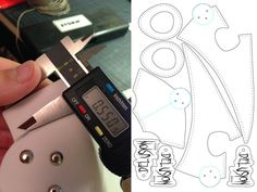 Picture of Measuring and digitizing the prototypes
