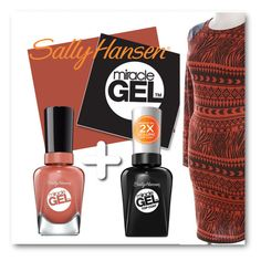"""No Light Gel: Show Us Your Tribal Vibe in 2 Steps with Sally Hansen® Miracle Gel™: Contest Entry"" by patricia-dimmick on Polyvore featuring beauty and Sally Hansen"