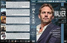 Mega Covers Gtba: Paul Walker Filmography - Set 5 (2013-2015) R1 - C...