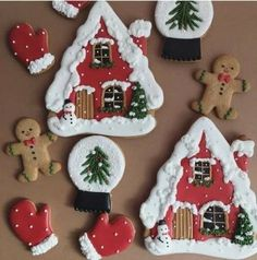 Simple Christmas cookie recipes Easy to Copy - DIY Ideas of Simple Christmas Cookies, Christmas Decoritions, Christmas Crafts,Christmas gifts, - Easy Christmas Cookie Recipes, Christmas Sugar Cookies, Christmas Crafts For Gifts, Christmas Sweets, Noel Christmas, Holiday Cookies, Christmas Baking, Gingerbread Cookies, Simple Christmas