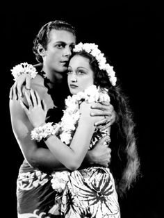 """The Hurricane"" - Dorothy Lamour & Jon Hall."