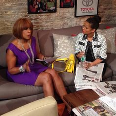 #BelleMovie's Gugu Mbatha-Raw on CBS This Morning with Gayle King!