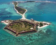 Key West, Florida Houses a Deserted Island with the Dry Tortugas trendhunter.com