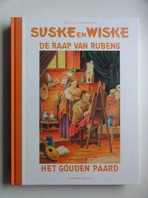 Suske en Wiske 10 HC - De raap van Rubens / Het gouden paard - hc met linnen rug - (2006)