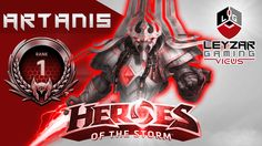 Heroes of the Storm Ranked Gameplay - Artanis, Hybrid Build (Rank 1 HotS...