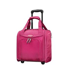 b2a4ba07f3 The Samsonite Travel Accessories Wheeled Underseater Small travel bag is  made from polyester fabric and features a dura.