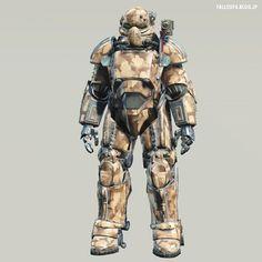 dogtoothCG - Fallout 4: T-49 Power Armor of the Storyteller