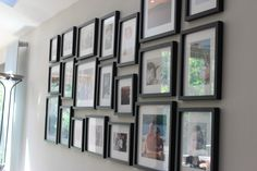 Feature photo wall