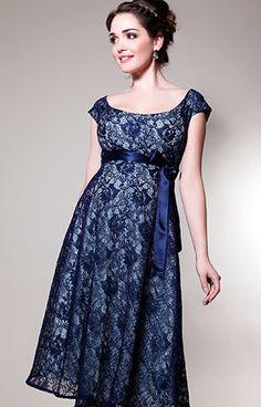 Eliza Maternity Dress Short (Aqua Marine) - Maternity Wedding Dresses, Evening Wear and Party Clothes by Tiffany Rose.