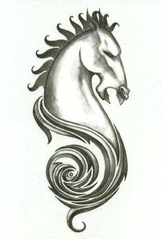 "Iron Tribal Horse Head Temporary Body Art Tattoos 2.5"" x 3.5"" TMI,http://www.amazon.com/dp/B00AAK72RO/ref=cm_sw_r_pi_dp_-9LRqb0G6ZY4CAQZ #tattoos #bodyart #apparel #bikers"