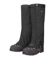 Gaitors keep mud and dirt from getting into your boots. You wouldn't think these would be necessary, but they are critical to your summit success especially since the mountain can be very muddy at lower elevations! They are very durable and I still use the same pair during New England winters. (Michael's recommendation)