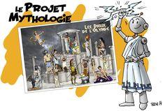Mythologie : Affichage géant à la bout de gomme