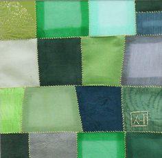 Korean Contemporary Bojagi by Textile Artist Won Ju Seo