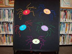 Fun with Friends at Storytime: Five Little Spiders
