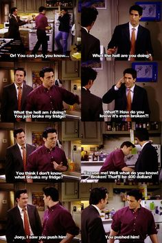 Joey is hilariousss #friends
