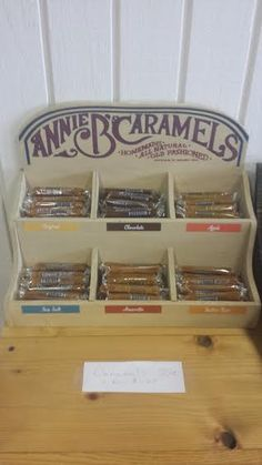Annie B's Caramels located at the Inn & sweets in Wahkon, MN