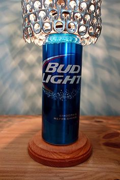 2059f23e79 Giant Bud Light Beer Can Lamp With Pull Tab Lamp Shade - The Mancave  Essential Bud
