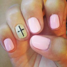 Cross nails. Because Jesus is my savior.